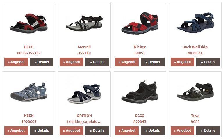 Trekking sandals
